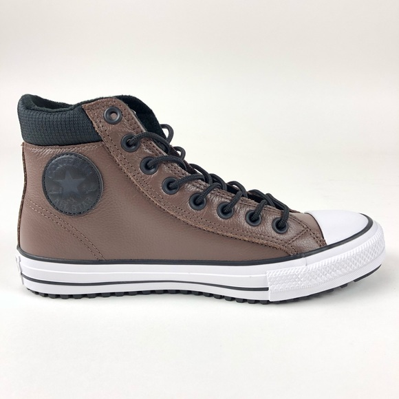 Converse CTAS PC Chocolate Leather Boot 162413C NWT